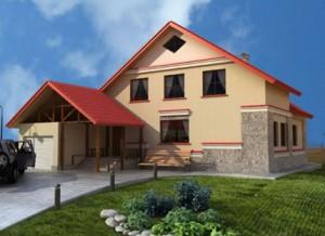 Обзор проектов домов из теплоблоков