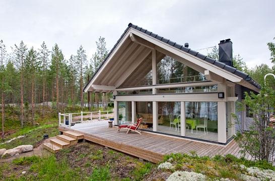 Подборка проектов финских домов и коттеджей
