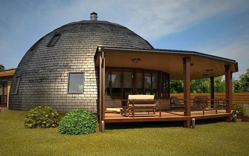 Обзор проектов купольных домов